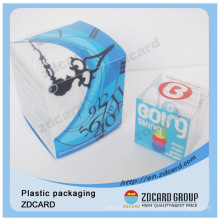 Clear Round Shape Plastic Clear Box Cylinder Packaging